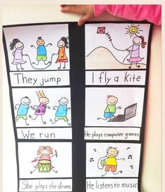 Simple verbs poster