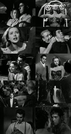 Nightmare Alley - 1947  worth a look,  for Power's engaging, electrifying performance.....& Haunting story