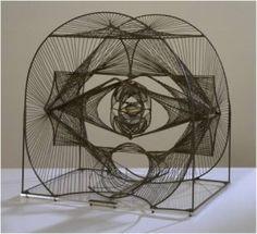 "CONSTRUCTIVISMO RUSO - -Antoine Pevsner, ""espíritu"", 1933"