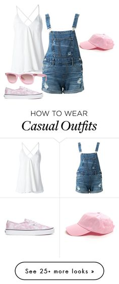 """""""Ultra Casual"""" by sillycatgrl on Polyvore featuring Dondup, Guild Prime, Vans and Ray-Ban"""