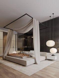 Room Easy Diy Decor Interior Design Inspiration, Home Interior Design, Interior Architecture, Bedroom Inspiration, Luxury Interior, Daily Inspiration, Modern Bedroom, Bedroom Decor, Master Bedroom
