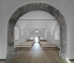 historic austrian chapel gets revitalized by HPSA