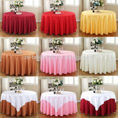 Durable jacquard round wedding damask table clothes