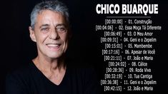 Chico Buarque As Melhores || Melhores Músicas Chico Buarque || CD Comple... Brazil Music, Album, Youtube, Best Songs, You Complete Me, Amor, Photos, Youtubers, Youtube Movies