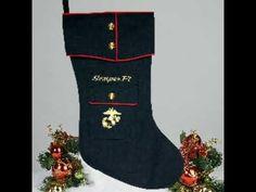 All styles. Marine Corps, Repurposing, Christmas Stockings, Xmas, Military, Youtube, Collection, Style, Needlepoint Christmas Stockings