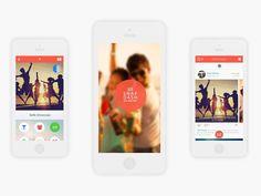 Mobile Photo App UI/UX by Drew Lepp via #Dribbble
