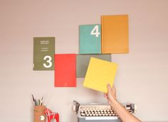 How to Create a Book Wall