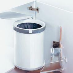 30 Unique Undersink Trash Can Ideas Pictures Remodel and Decor & Kitchen Organization \u2013 Swing Out Cabinet Trash Can \u2013 under sink ... Pezcame.Com