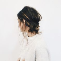 Easy hairstyle tutorials - twisted updo how-to. Wedding Hair. Hair Knot. Hair How To, easy updos