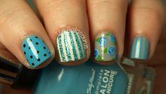 The Nailasaurus: Spots and Stripes
