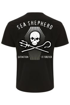 c8abd58bd03 Extinction is Forever Tee Visit the Sea Shepherd e-Store to find the latest  in
