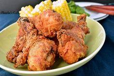 미 남부식 크리스피 프라이드 치킨,  바삭한 닭 튀김,튀김 요리  닭 요리  미국 요리  영화 속 요리  프라이드 치킨 만들기  파티요리