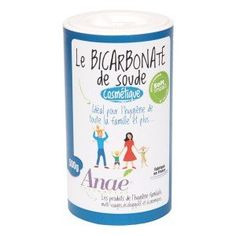 The Cosmetic Sodium Bicarbonate by Anaé. Head, shoulders, knees and toes, you cannot imagine how the Sodium Bicarbonate can be useful, good and Deodorant Bio, Gel Aloe, Sodium Bicarbonate, Natural Haircare, Mouthwash, Whitening, Coco, Baking Soda, Cosmetics