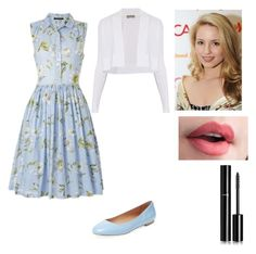 """Quinn Fabray Glee❤"" by natalie-1218 ❤ liked on Polyvore featuring Elorie, Sportmax, French Connection and Chanel"