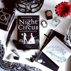 tess-tall-tale:  I just had to take a picture of my favourite book The Night Circus by Erin Morgenstern. The seashell drawing is drawn by me.