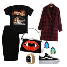 """""""Lobi lasvegas"""" by sarahscheinfeld on Polyvore featuring Hell Bunny, Kate Spade and Vans"""