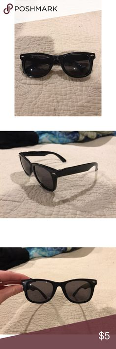 Black Sunglasses Basic Black Sunglasses Accessories Sunglasses