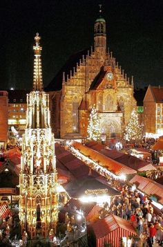Christmas Market, Nuremberg