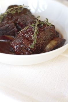 Braised Short Ribs - Click for Recipe