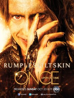 When it comes to villains, I have my favorites. This Rumplestiltskin is one of them.