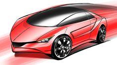 カースケッチ - Car Sketch