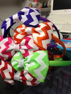 Headbands with bows    $ 5 each Shop70454@gmail.com