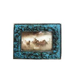 Blue Horses Frame