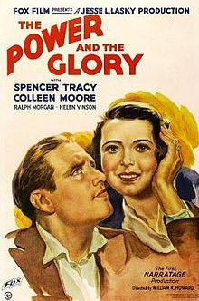 The Power and the Glory (1933). D: William K. Howard. Selected in 2014.