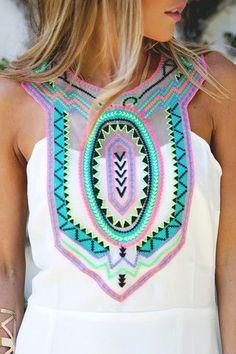 boho, neon colors, bright colors, spring fashion