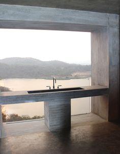 Casa Gota Dam: Una casa sobre una roca,