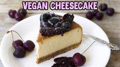 Creamy Vegan Cheesecake   DAIRY-FREE • NO REFINED SUGAR