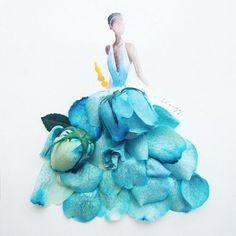 design-dautore.com: Flower Art by Lim Zhi Wei