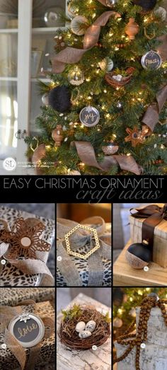 Easy DIY Christmas Ornaments | 2014 Michaels Dream Tree Challenge Details #michaelsmakers #madewithmichaels #tagatree