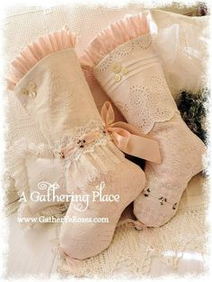 Wonderful stockings  - Miss Rose Sister Violet on facebook, The Gathering place