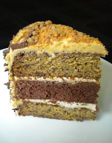 Buttaz Blog: Banana, chocolate and peanut butter cake