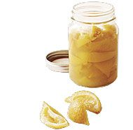 Preserved Lemons - Fine Cooking Magazine April/May Lemon Recipes, Fruit Recipes, New Recipes, Favorite Recipes, Fish Tagine, Moroccan Dishes, Marmalade Recipe, Preserved Lemons, Spice Blends