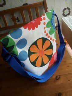 """Messenger Bag nach dem schnittmuster von Miriam Dornemann """"Meine Taschen,  Mein Design""""  Taschen-Rückseite"""