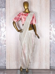 Grey Indo Western Style Ready To Wear Saree. ⚫️ View more collection at www.g3fashion.com ⚫️For price or detail do 📱whatsApp +91-9913433322 #g3fashion #readytowearsaree #indowestern #designerwear #indianwear #saree #readytowearsaree #delhi #doha #qatar #america #newjersey #newyork #la #toronto #usa #dazzleandravish #bearavishingdiva #greenandgold #readytowearsaree #easyfusionwear #sareewithatwist #drapesandsequins #mostwantedwear