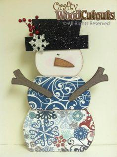 January & Winter Wood Crafts   Crafty Wood Cutouts