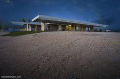 Residencia contemporánea en Estados Unidos | Arquitectura de Casas