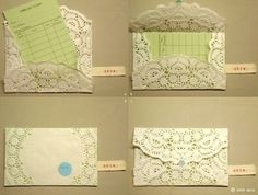 Another doily envelope