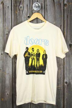 49938c23 The Doors Waiting For The Sun Tee Sun Shirt, Doors, T Shirts For Women
