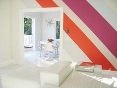 Zero Waste Home: wall stripes