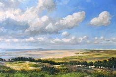 Gert-Jan Veenstra, schilder van Friese landschappen, stadsgezichten en nautische werken
