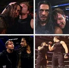 Dean ambrose and romam reigns