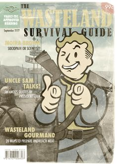 The Wasteland Survival Guide by tehspikey.deviantart.com on @deviantART #fallout