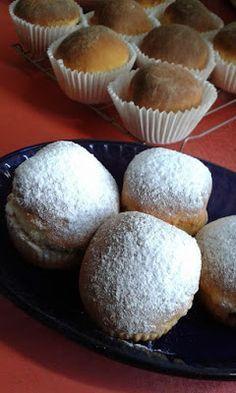 Szilvalekváros bukta - muffin