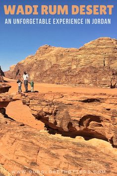 What should you expect exploring the Wadi Rum Desert in Jordan with kids?  A detailed guide to camping options and Bedouin guides that are suitable for families to use in discovering Wadi Rum.  #jordan #familytravel #middleeast Wadi Rum, Camping With Kids, North Africa, Travel Advice, Middle East, Family Travel, Monument Valley, Exploring, Families