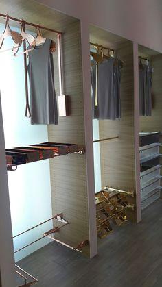 Servetto cobre. Es tendencia Closet Accessories, Cabinet, Storage, Furniture, Home Decor, Copper, Bronze, Trends, Clothes Stand