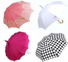 Luv the pink lace umbrella! So cute!